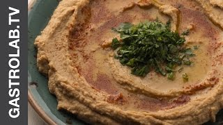 Hummus With Olive Oil And Paprika || Quick & Easy Recipes || Gastro Lab