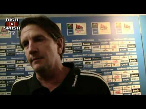 Chris Finch Post Lithuania Interview