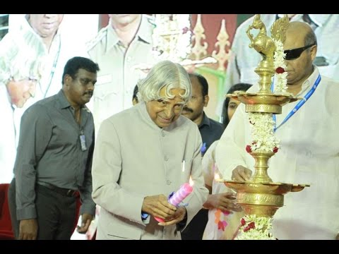 A. P. J. Abdul Kalam at CENTRE OF EXCELLENCE FOR  ENERGY RESEARCH AT SATHYABAMA UNIVERSITY