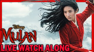MULAN 2020 (DISNEY+) LIVE WATCH ALONG!