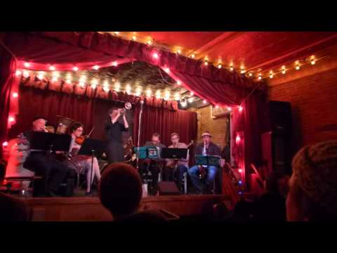 Ghost Train Orchestra at Jalopy Theater Petr Cancura solo