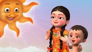 Sunrise Song | Telugu Rhymes for Children | Infobells