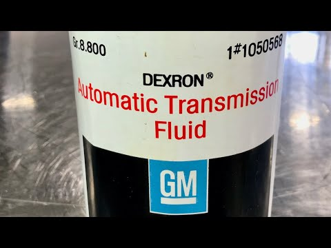 80 Years of GM Automatic Transmission Fluid - ATF History Part 2