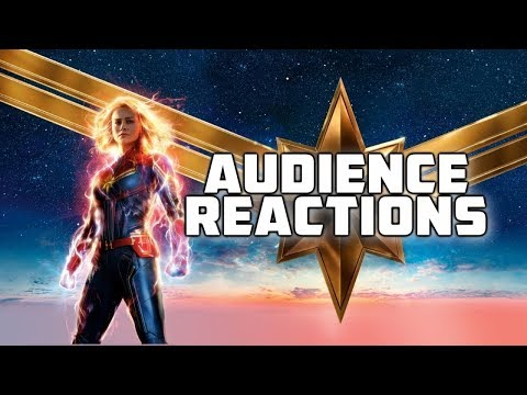 Captain Marvel {RE-POST}: Audience Reactions | March 9, 2019