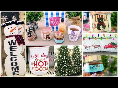 Christmas Decor Shop With Me At Homegoods, Hobby Lobby, Bath & Body Works + Christmas Decor Haul