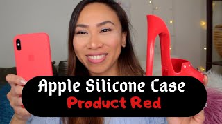 👠 Apple Silicone Case Product Red Iphone XsMax |Unboxing |Color Comparison | Maureen Scott👠