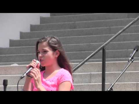 Bella Heart (Age 11) Hey Mickey (You're so Fine) Live at Children's Week 2013