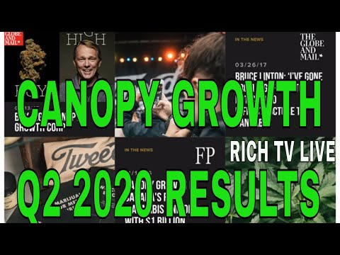 Canopy Growth Corp Q2 2020 Financial Results
