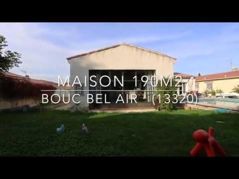 Maison 190m2 / Bouc Bel Air 13320 / au coeur du village