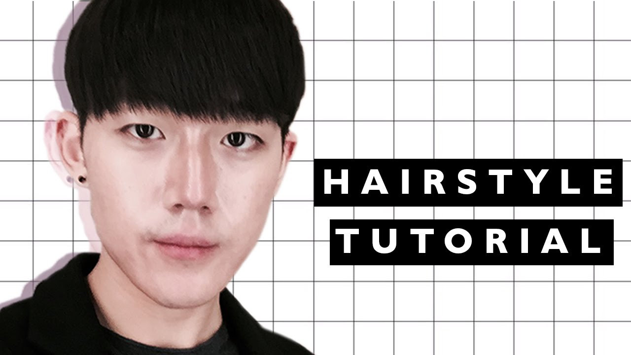 KOREAN HAIRSTYLE TUTORIAL Brute Choi YouTube - Hairstyle korean guys