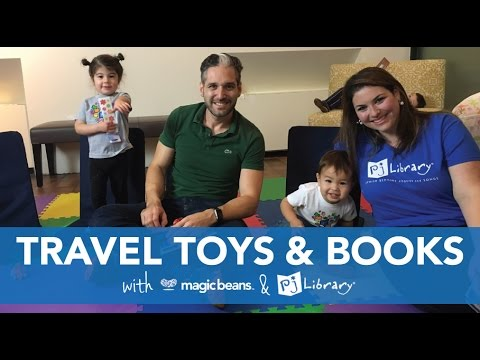 Travel Toys & Books With Magic Beans & PJ Library Of Boston