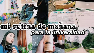 MORNING ROUTINE para la universidad 🌟 2020