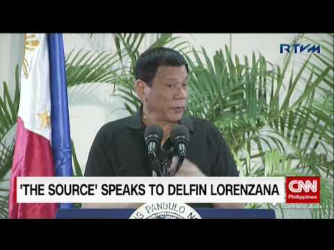 The Source: Defense Secretary Delfin Lorenzana