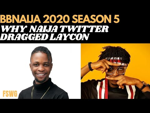BBNAIJA 2020 | LAYCON VS NIGERIAN TWITTER: THE DRAGS & THE FANS | BBN SEASON 5 LOCKDOWN HOUSEMATES from YouTube · Duration:  12 minutes 19 seconds