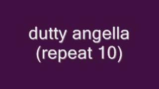 Dutty angella (lyrics)