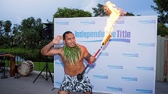 Summer Luau Celebration Independence Title Title Company