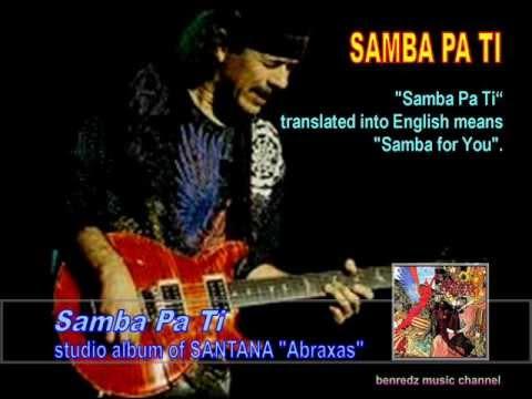 samba pa ti by santana from the album youtube. Black Bedroom Furniture Sets. Home Design Ideas
