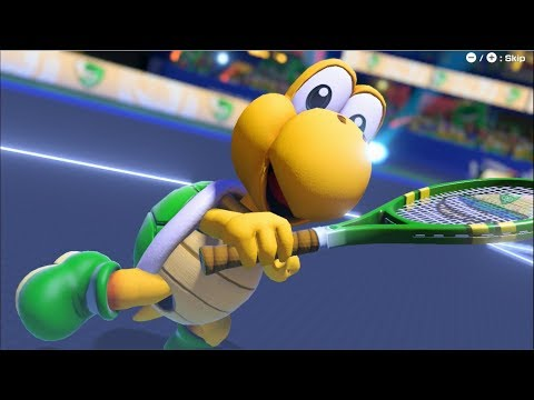 Mario Tennis Aces Playthrough Part 5 (EXTRA #2 - Koopa Troopa!)