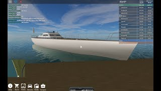 testing ships in roblox