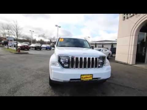 2012 Jeep Liberty Limited Jet Edition | White | CW168264 | Everett | Snohomish