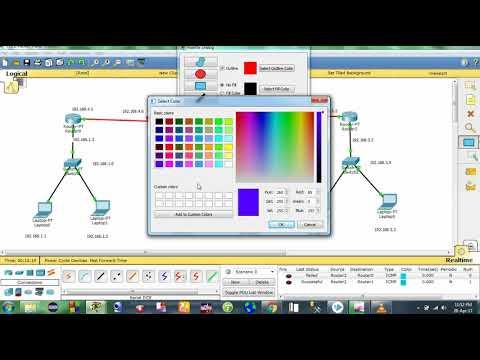 EIGRP configuration ||  3 routers configuration (cse circle)