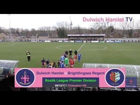 Dulwich Hamlet 2-1 Brightlingsea Regent, Bostik League Premier Division, 09/12/17 | Match Highlights