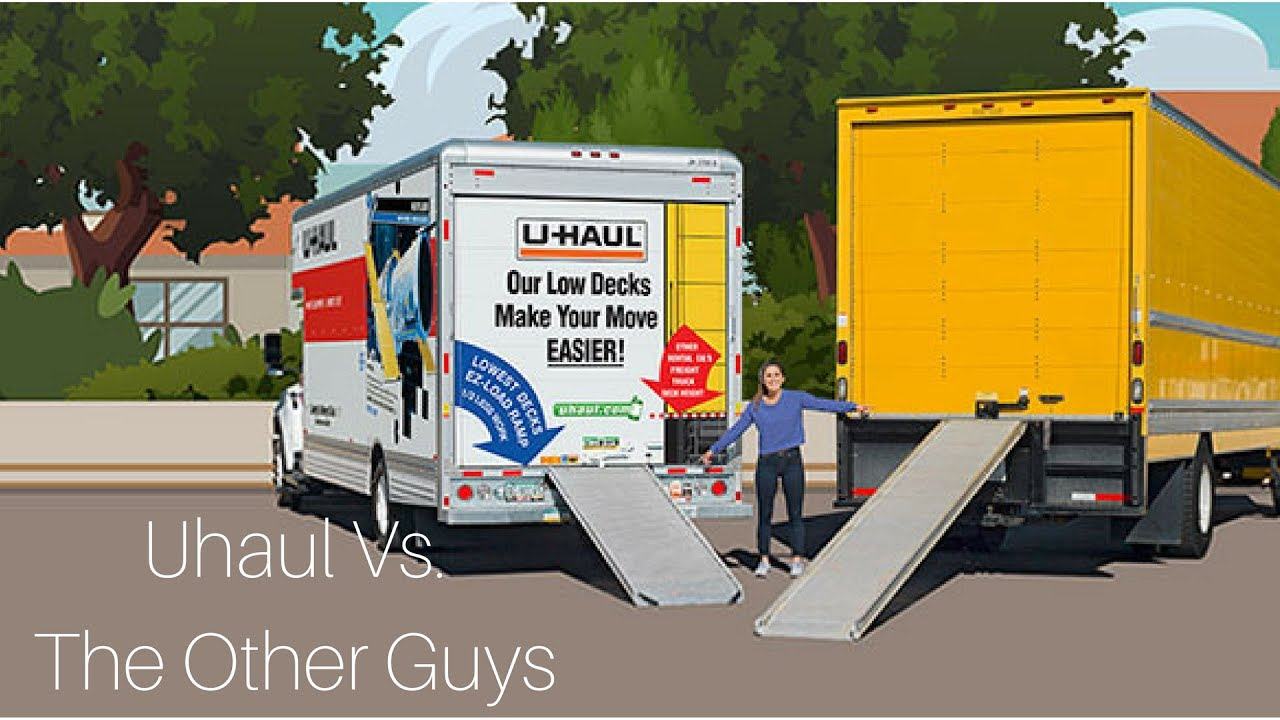 U Haul Moving Truck >> U Haul Vs Penske Vs Budget Youtube