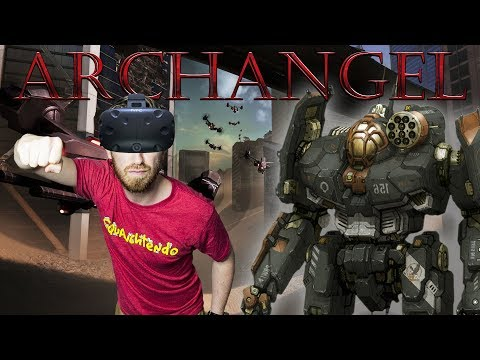 VR MECH SIMULATOR! | Archangel - HTC Vive Gameplay