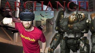 VR MECH SIMULATOR! | Archangel - HTC Vive Gameplay
