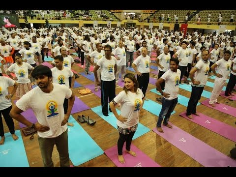 2nd International Day of Yoga Celebration held in Dhaka, Bangladesh- Full Program Video