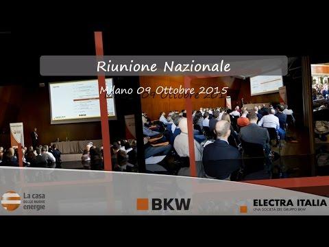 RIUNIONE NAZIONALE 2015 DI CDNE - LA CASA DELLE NUOVE ENERGIE