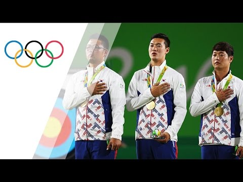 Republic of Korea wins gold in Men's Team Archery
