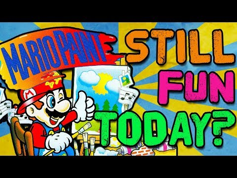 Is Mario Paint Still Fun Today? Unboxing, Gameplay, and More!