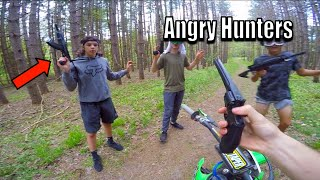 Angry Hunters Vs Dirt Bike