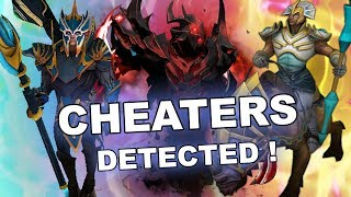 Dota 2 Cheaters: Auto NIMBUS, Scripted Chen, Tinker, SF and Techies!