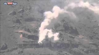 قصف مستودعات أسلحة شرق صنعاء