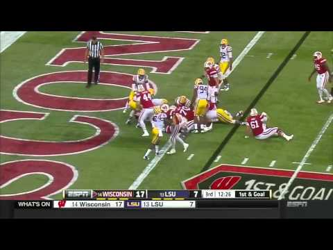 #13 LSU vs #14 Wisconsin 2014 FULL GAME HD