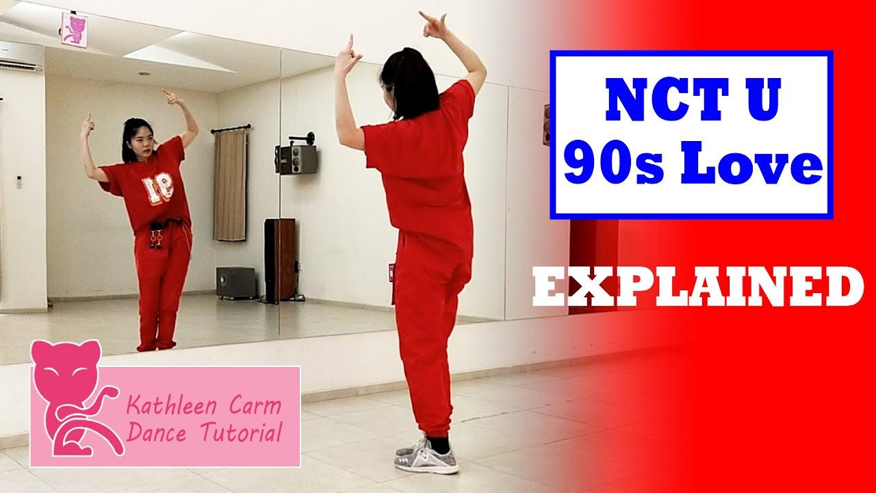 NCT U 엔시티 유 '90's Love' Dance Tutorial | Mirrored + Slow Music