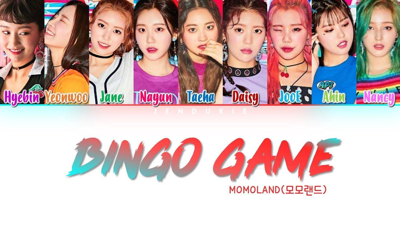 Momoland – Bingo Game