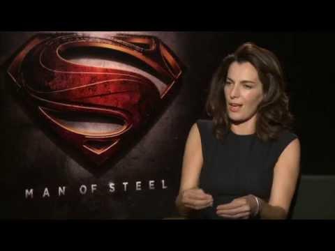 Man Of Steel (2013) Ayelet Zurer Interview [HD]