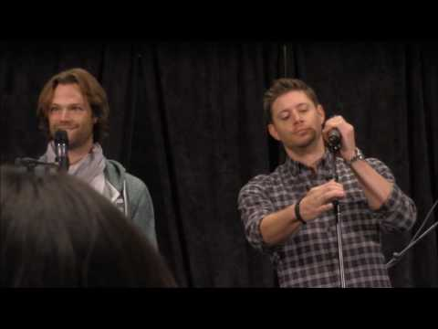 AtlCon Jared Padalecki and Jensen Ackles GOLD FULL Panel 2016 Supernatural