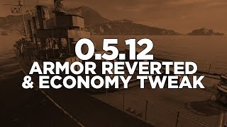 World of Warships - 0.5.12 Armor Reverted & Economy Tweak