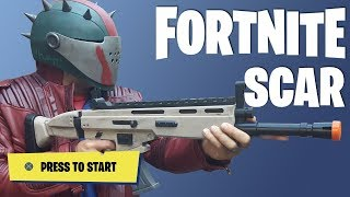 Fortnite Cosplay 3D Printed SCAR - Coupon Codes