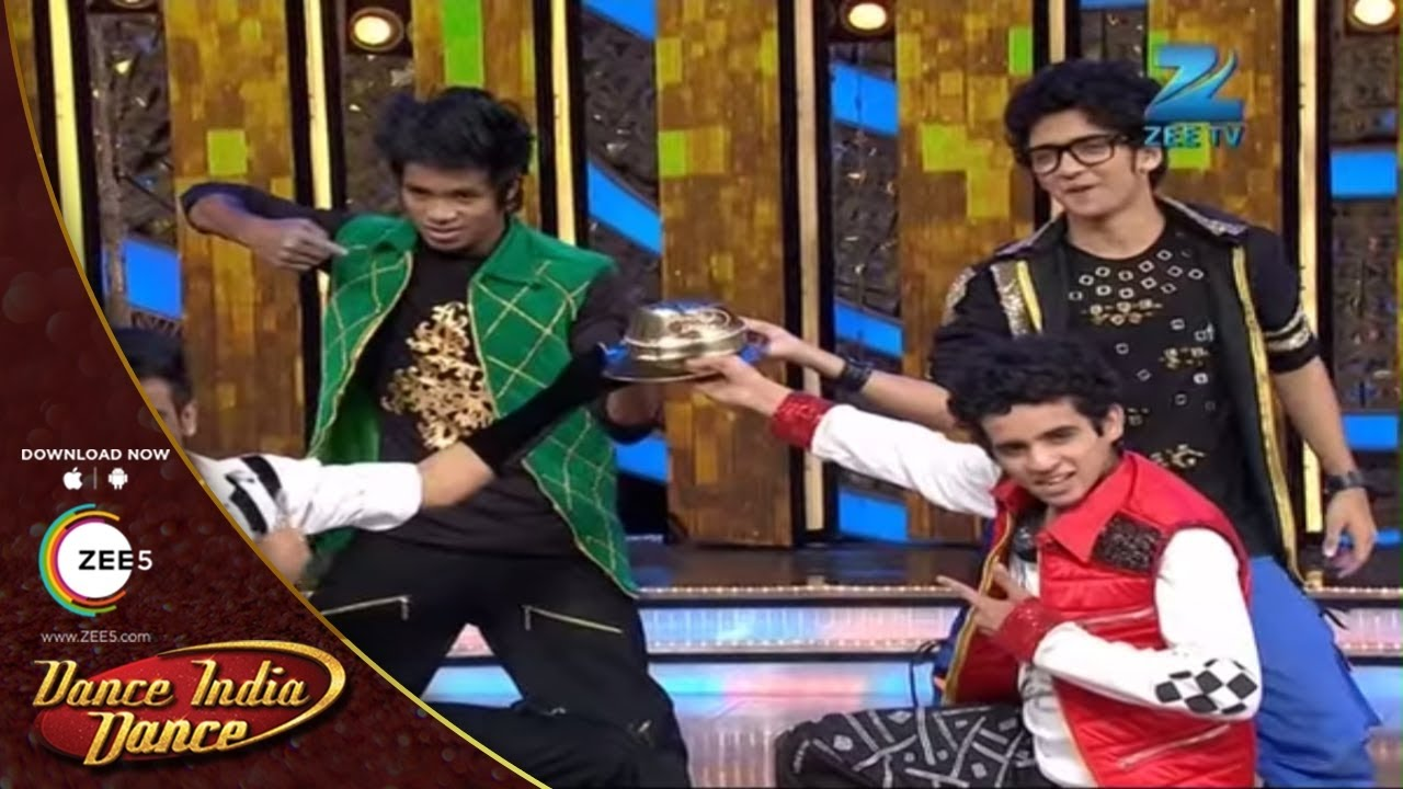Dance India Dance Season 4 - Finalists Shyam, Sumedh, Manan and Biki Das Power Packed Performance #1