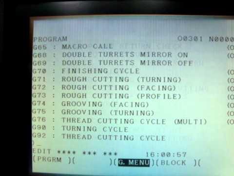 panel fanuc oi mate tc mpg youtube rh youtube com fanuc series oi mate tc programming manual fanuc series o t manual de operador pdf