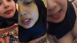 Bigo Live Hot   tante Jilbab pamer Uting terbaru Demi saweran
