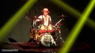 Bruno Mars - Locked Out Of Heaven @ Live in Jakarta 2014 [HD]