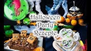 8 schnelle und leckere Halloween Party Rezepte 🎃🎃🎃