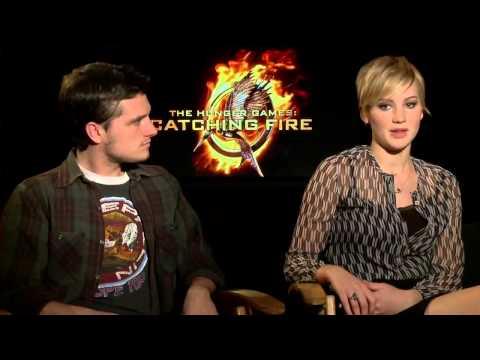Голодные игры: И вспыхнет пламя (2013) - Интервью актеров [HD]
