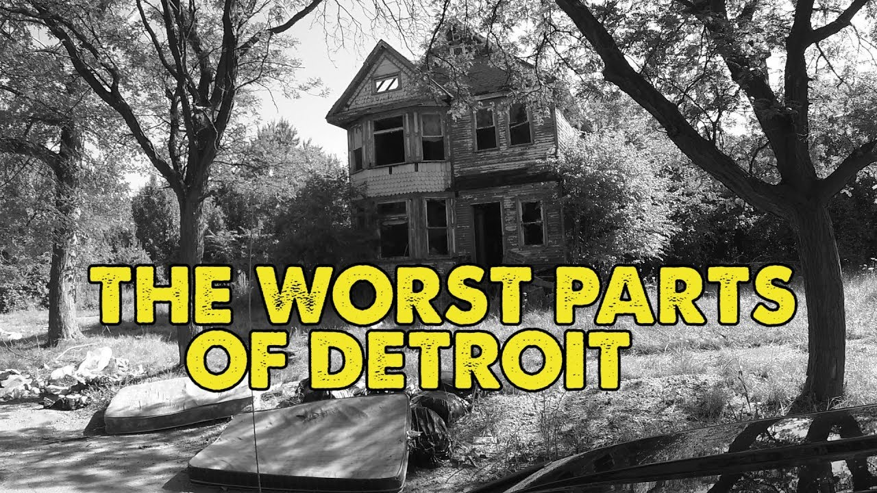 I Drove Through The Worst Parts Of Detroit Michigan This Is What I Saw Youtube